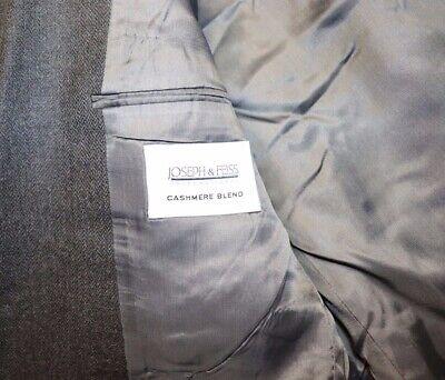 Mens 36R Joseph & Feiss Grey Cashmere Blend Blazer 7