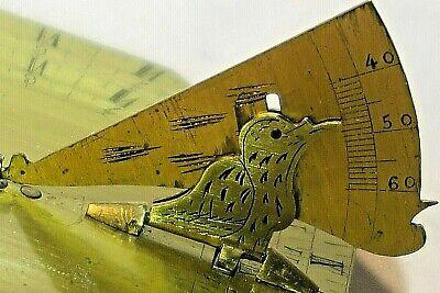 Antique French Brass Cased Pocket Sundial, circa 18th Century 3