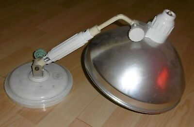 bauhaus design arzt schreibtisch tisch lampe wärme alt junolux top deko strahler 8