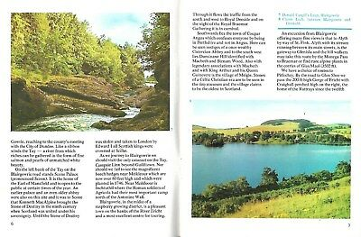 Colourmaster Perthshire Scotland Scottish on River Tay beautiful photos 1950-60s