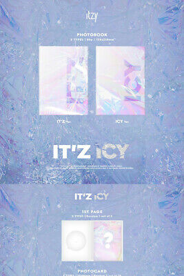 ITZY IT'Z ICY Album 2 Ver SET 2CD+POSTER+2 P.Book+4 Card+2 Pre-Order+GIFT SEALED 5