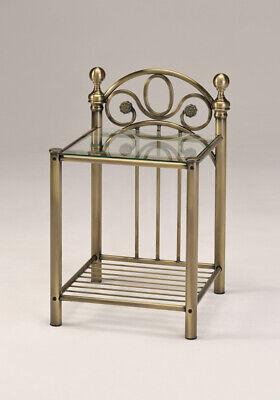 Harmony Florence Shabby Chic Vintage Luxury Antique Brass Finish Bed Frame 2