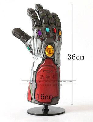 Avengers Endgame LED Glove Infinity Stone Gauntlet Iron Man Tony Stark Cos Prop 4