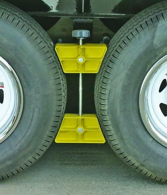 PROFESSIONAL-WHEEL-STOP-LARGE-PARTS-ACCESSORIES-RV-TRAILER-EXTERIOR-CHOCK-LOCK
