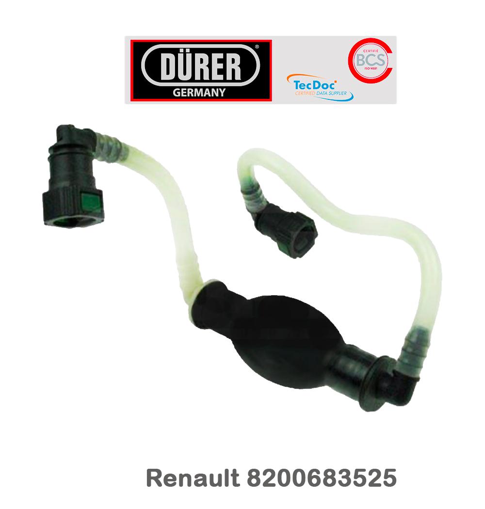 Poire amorcage Gasoil Renault Kangoo 2 depuis 08 Pompette Amorçage 8200683525 2