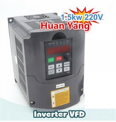 〖FR〗1.5KW Air cooled Spindle Motor ER16 220V& 1.5KW Inverter VFD& 80mm Clamp CNC 9