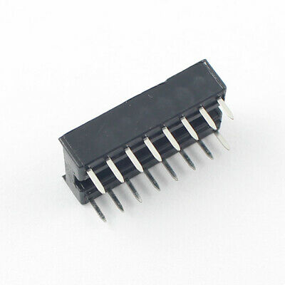 100Pcs 2.54mm Pitch 2x8 16 Pin Dual  DIP Solder Type IC Socket Adaptor Narrow 3