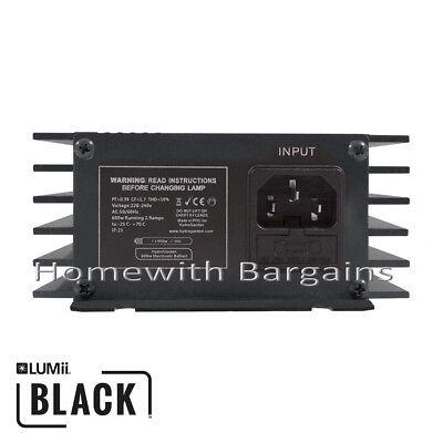 600w LUMii BLACK Electronic Digital Dimmable Ballast 250w 400w 660w Super Lumen 4