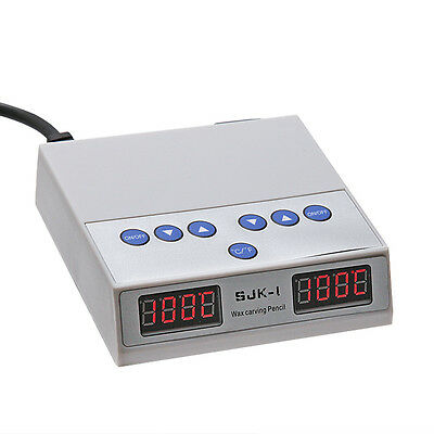 Dental Lab Digital  Electric Waxer Carving 2 Pens and 6 Wax Tips TFS 3
