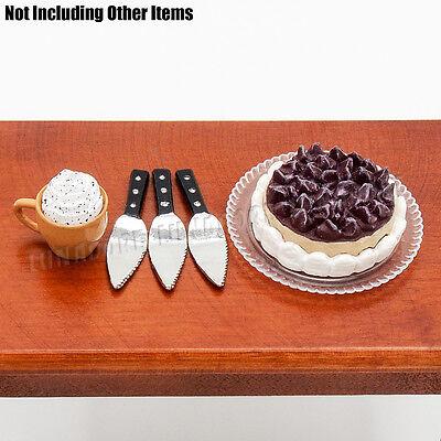 3PCS Cake Shovel Miniature Metal Pizza Pie Server Baking Tool 1:12 Dollhouse New 8