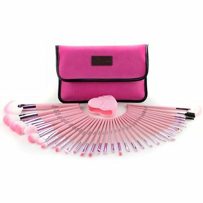b1e9032f3dbd GLOW 30 PCS Professional Make up Brushes Set Makeup Kit in Cosmetic Case