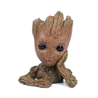AU Guardians of The Galaxy Baby Groot Figure Flowerpot Pen Pot Toy Gifts 16CM DM 2