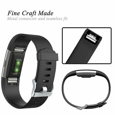 For Fitbit Charge 2 Strap Replacement Band Metal Buckle Wristband Accessory 6