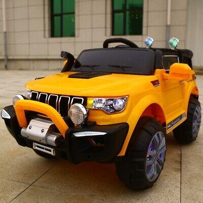 Auto Elettrica Per Bambini Macchina Jeep 2 Posti 4Wd 12V Con Telecomando Usb Mp3 10