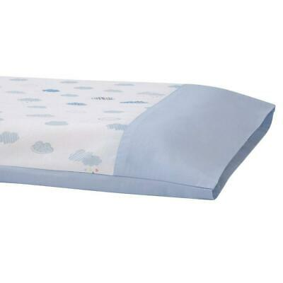 Clevamama Replacement Toddler Pillow Case Cover (Blue) To Fit 55x35cm Approx 2