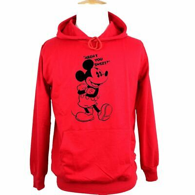 Disney Mickey Aren't You Sweet Print Sweatshirt Unisex Hoodies Graphic Hoody Top 4
