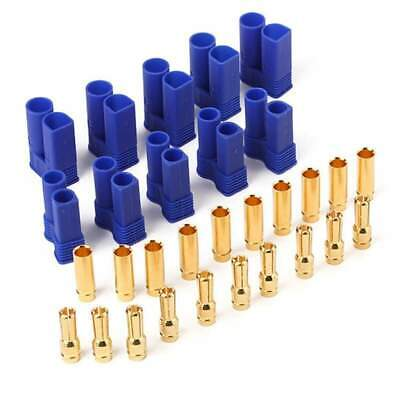 EC5 Male Female Gold Plated Pins Connector 10pc - 5 pairs. Ships from ON. Canada 4