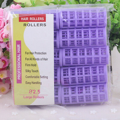 DIY Hair Salon Curlers Rollers Soft Large Hairdressing Tools 6/8/10/12pcs Hotly