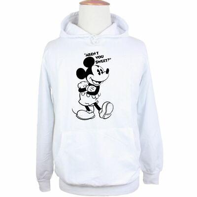 Disney Mickey Aren't You Sweet Print Sweatshirt Unisex Hoodies Graphic Hoody Top 3