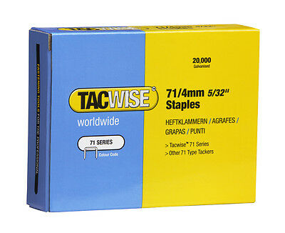 Tacwise 71 Series Staples 4-16Mm