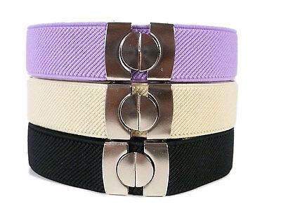 Kids Belts/Childrens Belts. Boys & Girls adjustable Elasticated Belts 1-11 Years 3