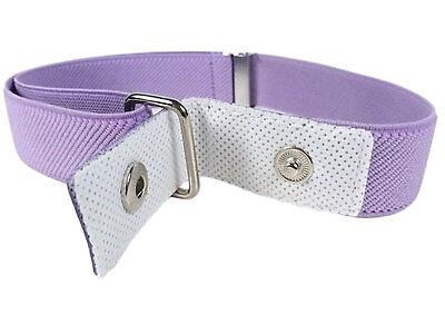 Kids Belts/Girls Belt. Girls 1-6 Years Elasticated Belt with Flower Design 3