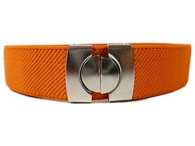 Kids Belts/Childrens Belts. Boys & Girls adjustable Elasticated Belts 1-11 Years 5