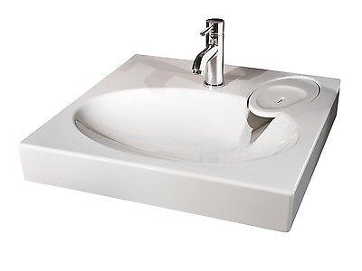 Waschbecken Claro Aus Mineralgussmarmor Poliert Stein Spule