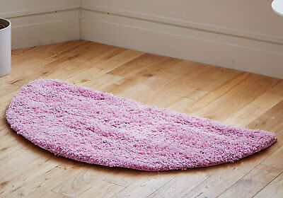 Modern Small Extra Large Pink Colour Thick 5Cm Pile Non-Shed Shaggy Rug Runners 5