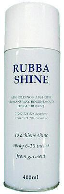 SHINE LATEX Spray Lucidante per Capi di Abbigliamento in Lattice 100 ml o 400 ml 2