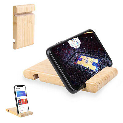 Universal Wooden Mobile Phone/Tablet Desk Stand Holder For Samsung iPhone Htc 2