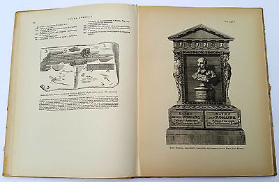 "1939 Charles Cameron Architect ""TERMS of ROMANS"" Illustrated Book Russian Edit. 3"