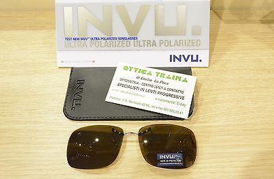 16e3e84328d ... Occhiali da sole Sunglasses Addizionale Polarizzato INVU C 1407 C  Marrone 100%UV 2