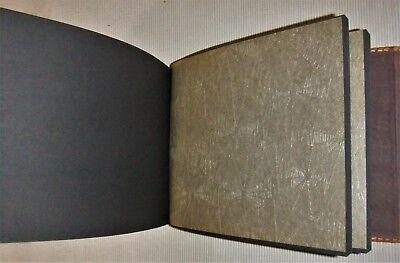 Antiguo Albúm De Fotografias De Piel/Cuero 5