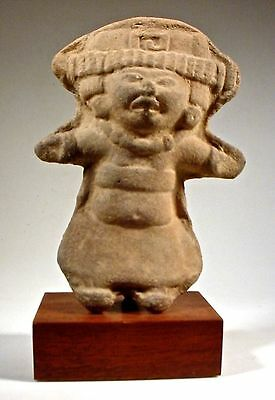 Pre-Columbian Smiling Figure Remojadas Vera Cruz Mexico 2
