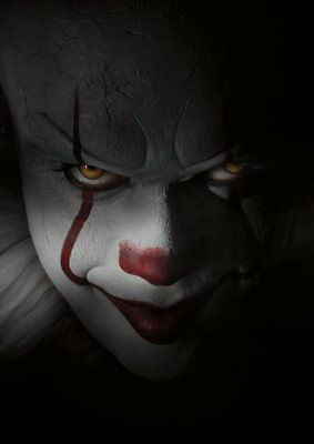 Stephen King   IT  2017 PENNYWISE the Dancing Clown A5 A4 A3 Textless Poster 7