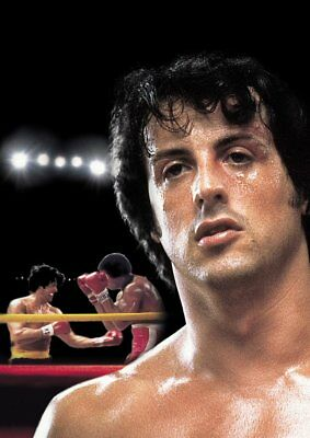 ROCKY BALBOA, MR T Texless Movie Posters A5 A4 A3 8