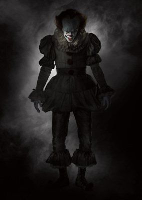 Stephen King   IT  2017 PENNYWISE the Dancing Clown A5 A4 A3 Textless Poster 6