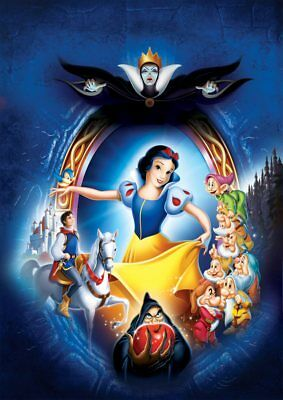Classic Disney: Frozen, Lion King, Beauty & the Beast  A5 A4 A3  Textless Poster 10