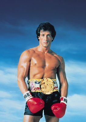 ROCKY BALBOA, MR T Texless Movie Posters A5 A4 A3 3