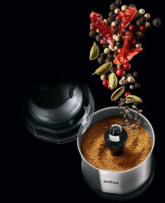 Braun accessorio trita macina spezie caffè Multiquick 3 5 7 4130 4165 4191 4199 4