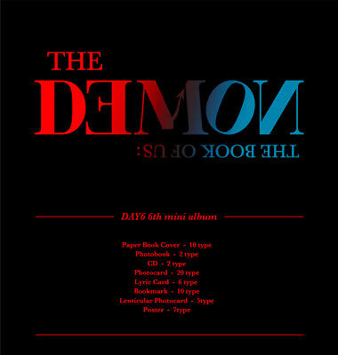 DAY6 - The Book of Us : The Demon CD+Pre-Order Benefit+Poster+Gift+Tracking no. 2