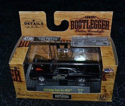 1970 /'70 DODGE SUPER BEE HEMI LUNATI BOOTLEGGER M2 MACHINES DIECAST 2016