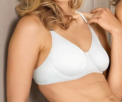 Naturana Women/'s Soft Full Cup Cotton Lined Wired Bra 86720 RRP £16.95