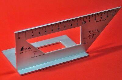 SHINWA 62113 équerre menuisier charpentier aluminium 45 90 degrés JAPON 2