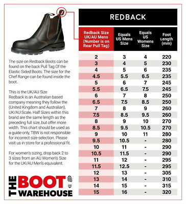 Redback UBOK Non Safety Work Boots. Elastic Sided Bobcat. Oiled-Kip. Brand New 2