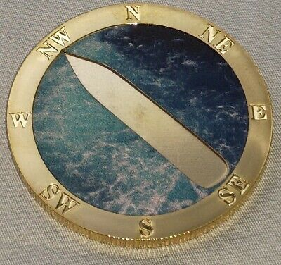 Titanic 3D Silver Ship on Gold Coin Sank 1912 Atlantic Ocean Photo Movie Toy USA 11