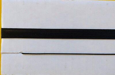 "White 12-ft Dial Cord String Braided for Vintage Tube Radio Tuner 0.032/"" 0.8mm"