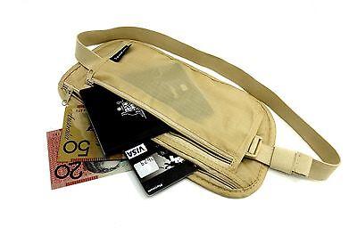 Travel Pouch Security Tips Travel Passport Secret Waist Belt Bag Secure Wallet 2