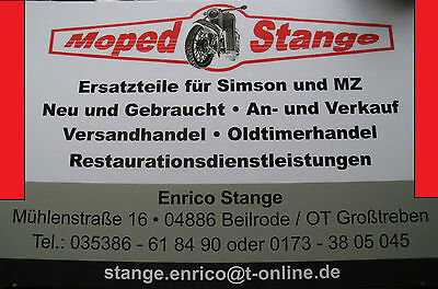 Simson Enduro Halter Halterung Auspuff S51E S70E S53E CHROM Tuning für DDR